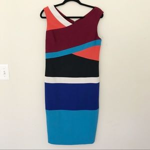 Anthropologie Dresses - Anthro Tracy Reese Surplice Colorblock Dress